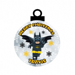 Lego Batman Acrylic Christmas Ornament Decoration